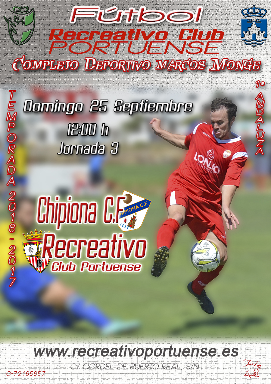 Portuense-Chipiona 25-09-16 FB